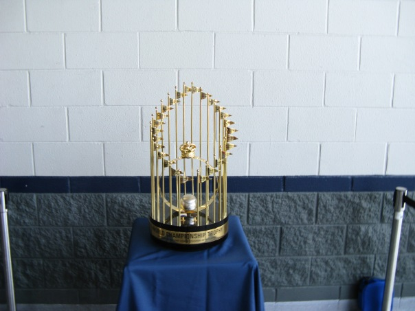YANKEES 1978 CHAMPIONSHIP TROPHY